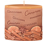 Emocio Cinnamon Cinnamon scented candle ellipse 110 x 45 x 110 mm