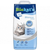 Biokats Bianco Classic Litter for cats strongly lumpy white litter 10 kg