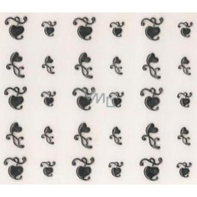 Absolute Cosmetics Nail Art self-adhesive nail stickers NT001 1 sheet