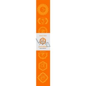 Incense sticks Second chakra Orange 14 pieces
