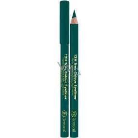Dermacol 12h True Color Eyeliner wooden eyeliner 05 Green 2 g