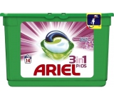 Ariel 3v1 Touch of Lenor Fresh gel capsules for washing clothes 14 pieces 418,6 g
