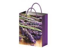 All-year gift bag L- lavender 32x26x12,7cm 12181 6842