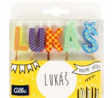 Albi Cake candles name - Luke, 2.5 cm