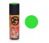 From colored hairspray Green 125 ml spray