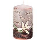 Emocio Vanilla Vanilla scented candle cylinder 60 x 110 mm