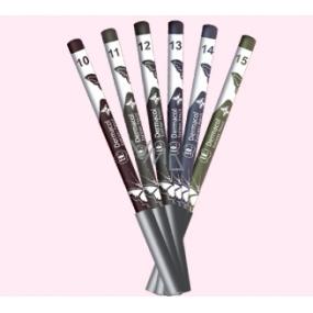 Dermacol Silk Eyeliner Pencil tužka na oči Green 15