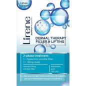 Lirene Dermal Therapy Filler & Lifting 2 phase treatment mask 2 x 6 ml
