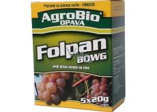 AgroBio Folpan 80 WG proti plísni révové v révě vinné 5 x 20 g