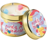 Bomb Cosmetics Birds of Paradise A natural, handmade candle in a tin can burn up to 35 hours