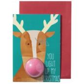 Bomb Cosmetics Osvětlené vánoce Vánoční přání s balistikem 50 g