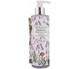 Bohemia Gifts Botanica Lavender with olive oil, herbal extract and yogurt active ingredient liquid soap dispenser 250 ml
