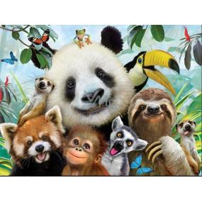 Prime3D poster Zoo - Selfie 39.5 x 29.5 cm