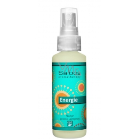 Saloos Natur Aroma Airspray Energy air freshener with a blend of essential oils of mint, grapefruit and other citrus, releases tension, delivers positive energy 50 ml