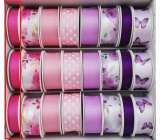 Ditipo Satin pink ribbon 4 mx 15 mm