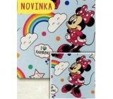 Nekupto Christmas wrapping paper for children Minnie Mouse 70 x 200 cm 1 roll BLI 046