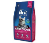 Brit Premium Adult chicken complete food for adult cats 1.5 kg