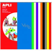 Apli Foam 300 x 200 x 2 mm 10 sheets mix colors