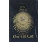 Naomi Campbell Queen of Gold Eau De Toilette Spray 0.7 ml, Vialka