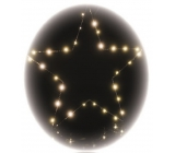 Emos Star hanger 30 LED warm white + timer 39 x 34.5 cm
