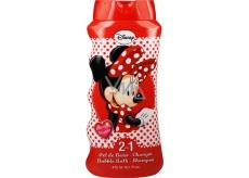 Disney Minnie 2v1 koupelový a sprchový gel pro děti 475 ml