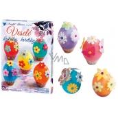 Egg decoration Merry flowers set