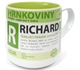 Nekupto Hrnkoviny Mug with the name Richard