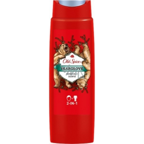Old Spice BearGlove 2in1 shower gel and shampoo for men 400 ml