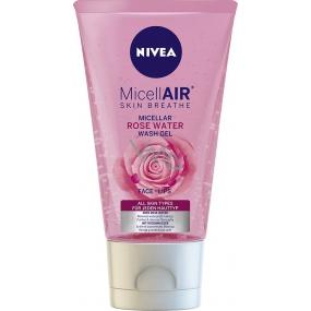 Nivea MicellAir cleansing micellar gel with rose water 150 ml