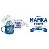 Tin mug named 029 Mum