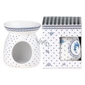 AROMALAMPA ceramic 92x106 mm Blue dots 1758