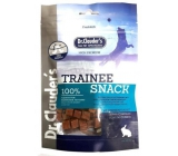 Dr. Clauders Trainee Snack Rabbit dried rabbit cubes supplementary food 100% meat for dogs 80 g