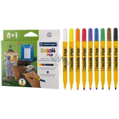 Centropen Markers special for metal, glass, plastic, ceramics, stone 8 + 1 piece