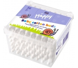 Bella Happy Baby 100% natural cotton cotton swabs 56 pieces