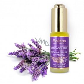 Saloos Royal Care Argan & Prickly Pear & Lavender 100% Organic Exclusive Anti-Wrinkle Care 20 ml
