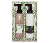 Heathcote & Ivory Tender Palm cleansing gel 200 ml + body lotion 200 ml, cosmetic set