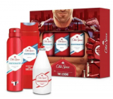 Old Spice White Water Trio deodorant spray 150 ml + 2 in 1 shower gel for body and hair 250 ml + aftershave 100 ml, cosmetic set for men