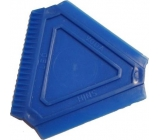 Car scraper triangle small 8 x 8 x 8 cm 1 piece
