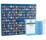 Versace Eau Fraiche Man eau de toilette for men 100 ml + deostick 75 ml + eau de toilette 10 ml, gift set