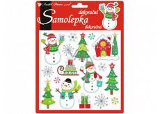 Christmas merry 3D stickers 18 x 17 cm