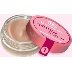 Dermacol Touch Touch Mousse Foam Makeup Shade 01 15 g