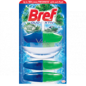 Bref Duo Aktiv Northern Pine Pine toilet gel refill 3 x 60 ml