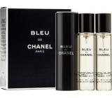 Chanel Bleu de Chanel eau de toilette set for men 3 x 20 ml