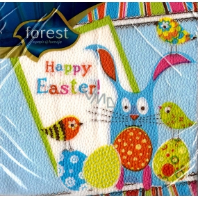Forest Happy Easter Easter napkins 33 x 33 cm 1 layer 20 pieces