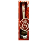 Nekupto Twister Spoon with the name Dasha red 16 cm 1 piece