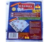 Clanax Universal dust cloth 3D viscose non-woven Flower pattern 35 x 35 cm 3 pieces