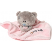 Me to You Teddy Tiny Tatty Teddy Dečka s medvídkem růžová 22 x 18 cm