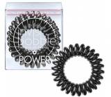 Invisibobble Power True Black Hair Spiral Black Spiral 3 pieces
