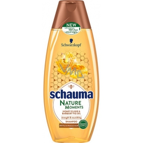 Schauma Nature Moments Honey elixir and prickly pear oil for regeneration and strength hair shampoo 400 ml
