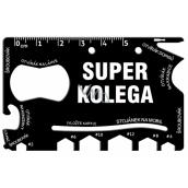 Albi Multi-tool for wallet Super colleague 8.5 cm x 5.3 cm x 0.2 cm